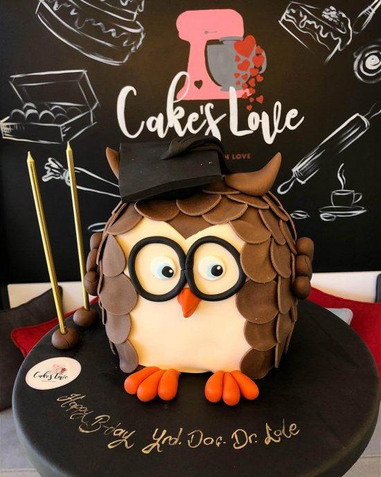 baykuslu dogum gunu pastası