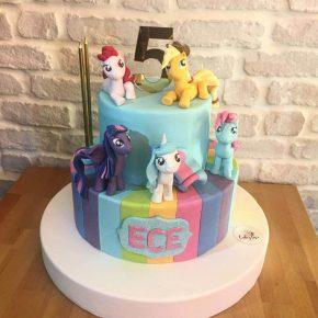 minişli doğum günü pastası