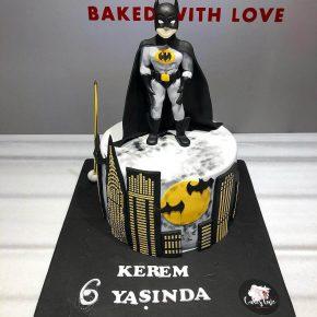 batman doğum günü pastası