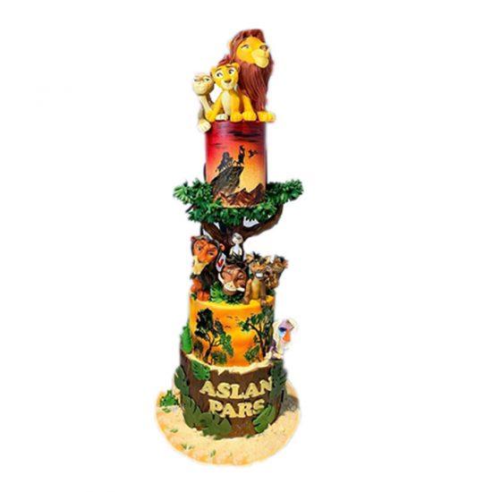aslan-kral-uzun-pasta