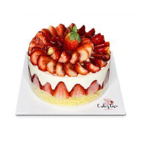 dilimli cilekli-pasta